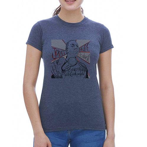 John Huff Podcast Women's Slim Fit T-Shirt