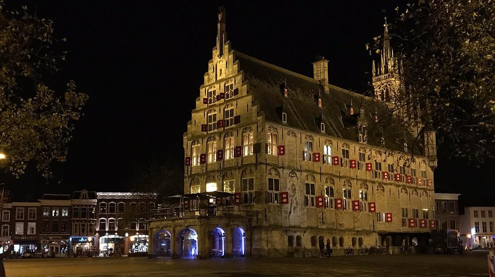 Gouda town hall.