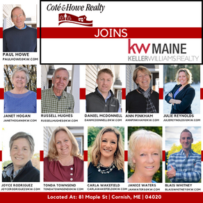 Cote' and Howe Realty Merges with KW Maine
