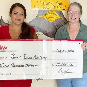 Poland Spring Academy re-opens with Gift from KW Maine