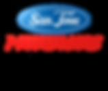 SJ MUSTANGS logo with light transparent.