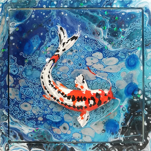 Speckled Stripe Koi