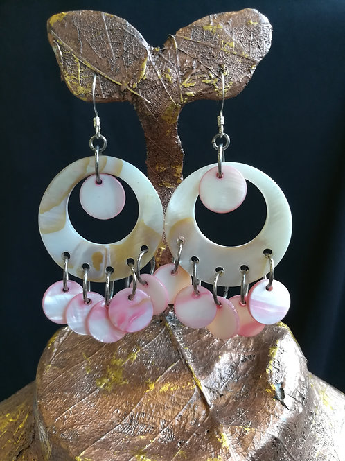 "Pink ""Cha-Cha"" Earrings"