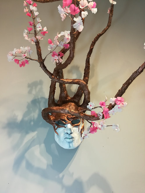 Cherry Blossom Male Mask