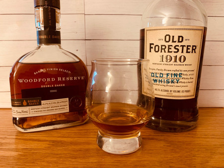 Battle of the Bourbons: Old Forester 1910 vs. Woodford Reserve Double Oaked