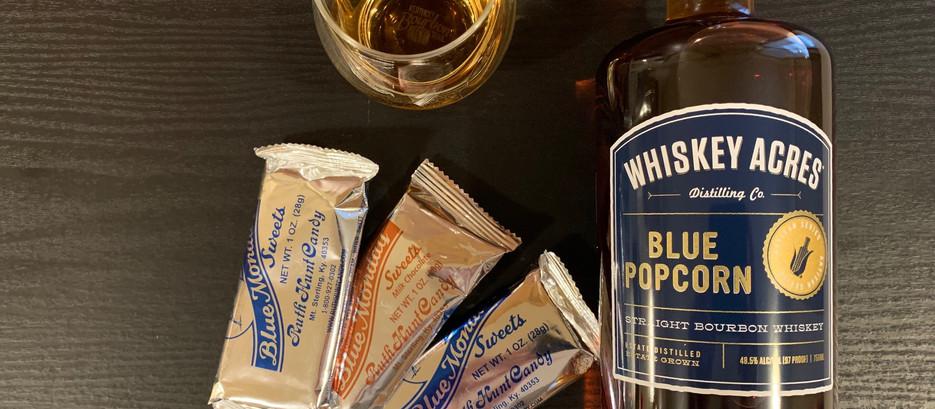 Whiskey Acres Blue Popcorn