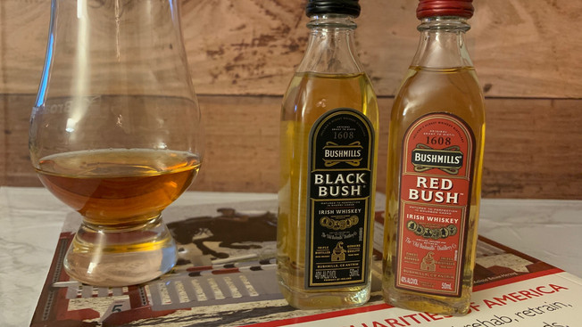 Bushmills Black Bush and Red Bush
