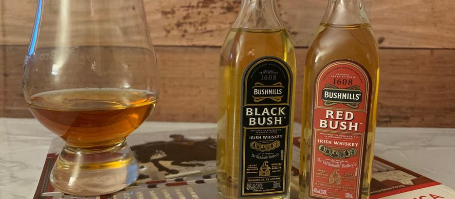 Bushmills Black Bush and Red Bush