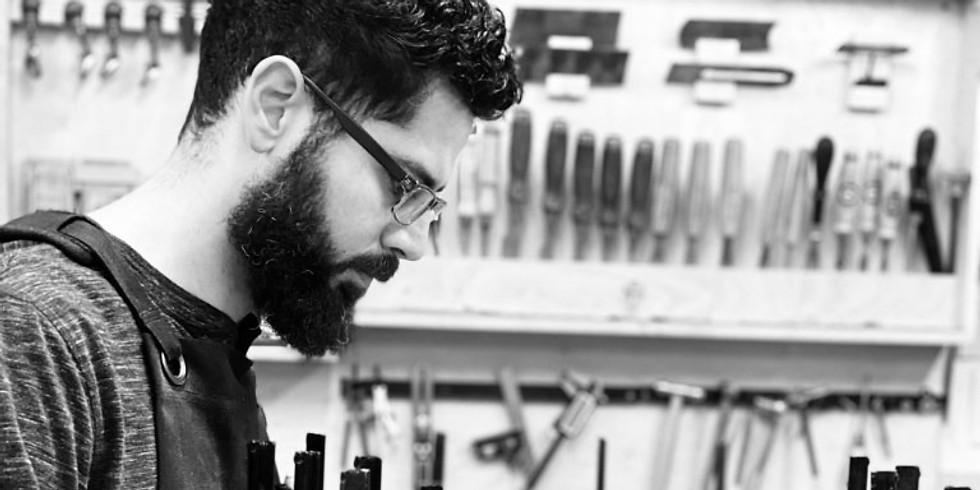 """Ivan Scafati - Virtual Talk - """"The Art of Wood"""" Series"""