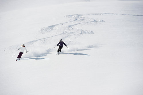 The Skiing One