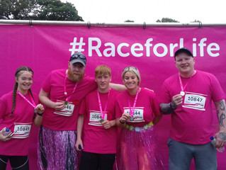 Pretty Muddy/Cancer Research Race for Life