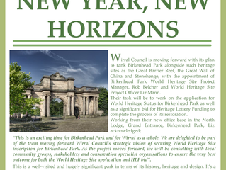 Birkenhead Park 2019 Newsletter #1