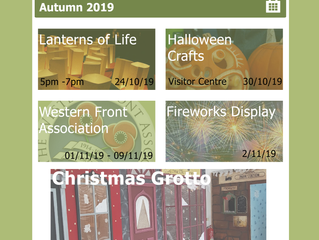 Upcoming Events Autumn 2019