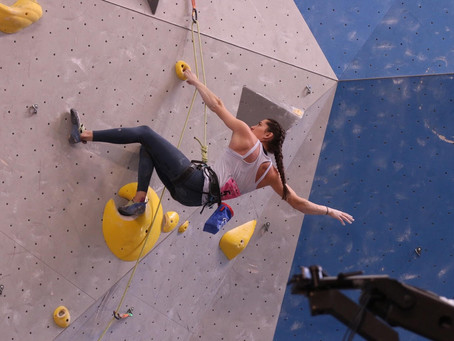 Interview with Pro Climber, Kyra Condie