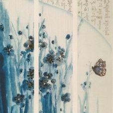Blue an White Spring
