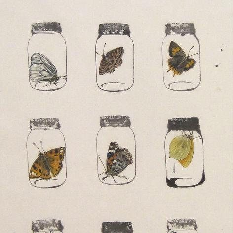 Jars & Memories Butterfly Array