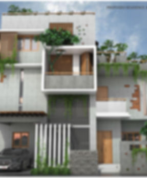 Eco Friendly house of JIJID, Bangalore