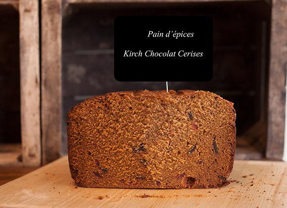 Pain d'épices Kirch-Chocolat-Cerises