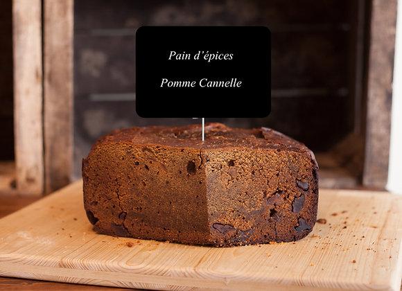 Pain d'épices Pomme-Cannelle