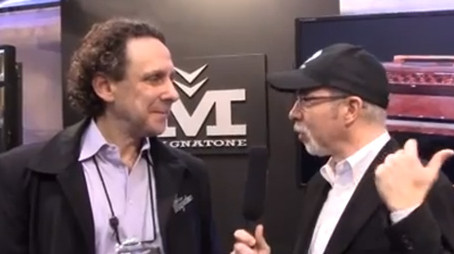 VIDEO: INTERVIEW WITH MUSIC RADAR AT NAMM 2013