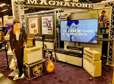 Magnatone is Ready for NAMM 2020!
