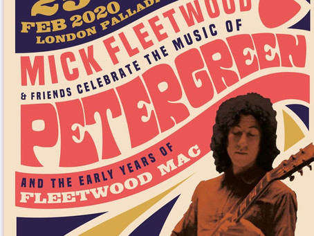 Peter Green honored last night