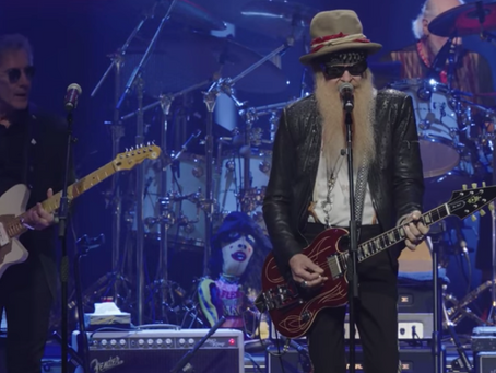 Billy Gibbons at the Peter Green Tribute Concert