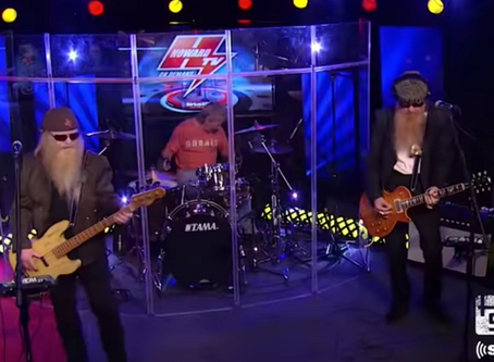 ZZ Top and Howard Stern