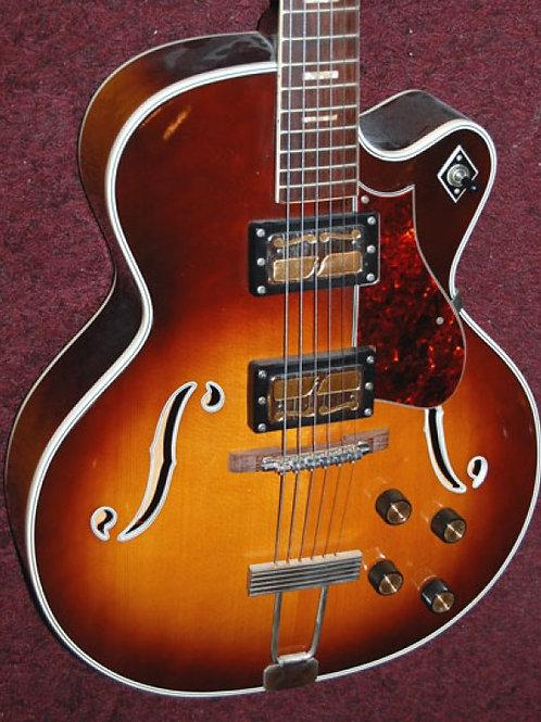 1969 Harmony H-68 Jazz Artist