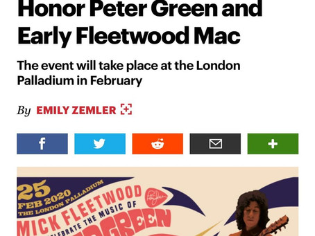 Concert to Honor Peter Green