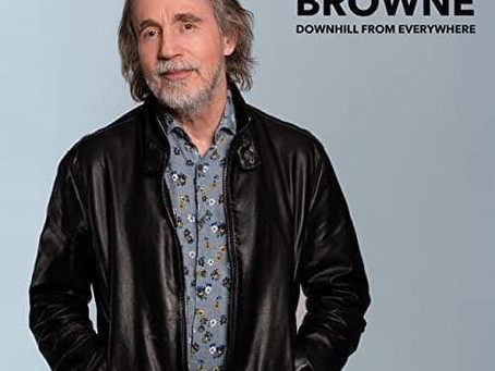 """Jackson Browne: """"Downhill From Everywhere"""""""