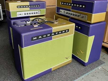 Mardi Gras Amps Made and Ready to Order