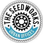 """Seedworks Logo. Reads """"The Seedworks Urban Offices"""""""
