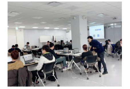 Held a Workshop on Machine Learning at START UP CAMPUS