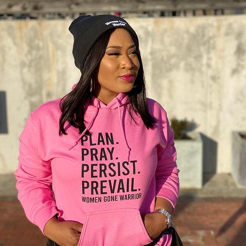 Plan Pray Persist Prevail Hoodie