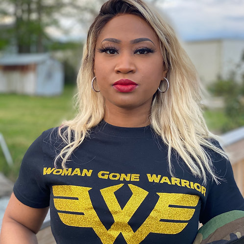 Woman Gone Warrior Signature Tee