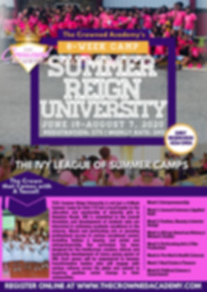 Copy of College Open House Flyer Templat