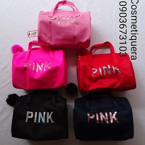 Cosmetiquera Pink