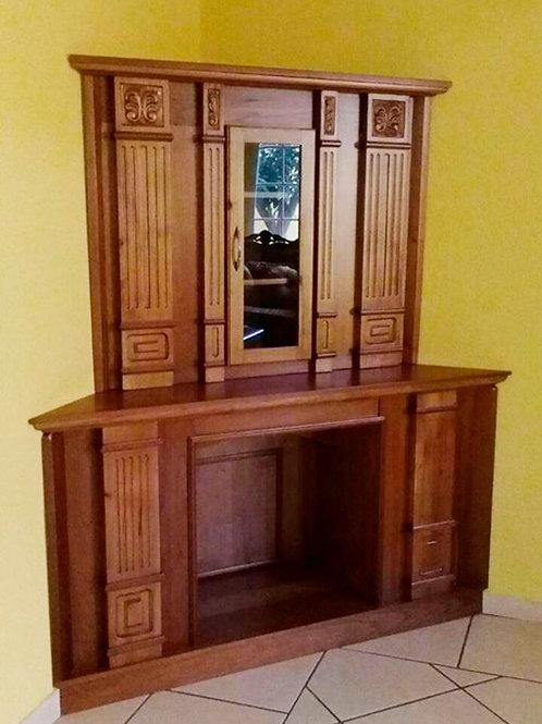 Mueble para sala en esquina