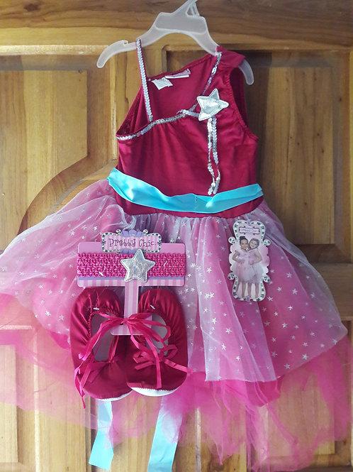 Vestido para  niñas tallas de 4 a 6 años