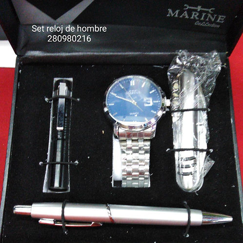 Set de reloj para hombre