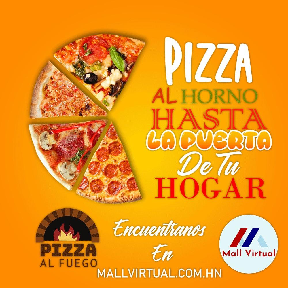 Pizza al horno bienvenida