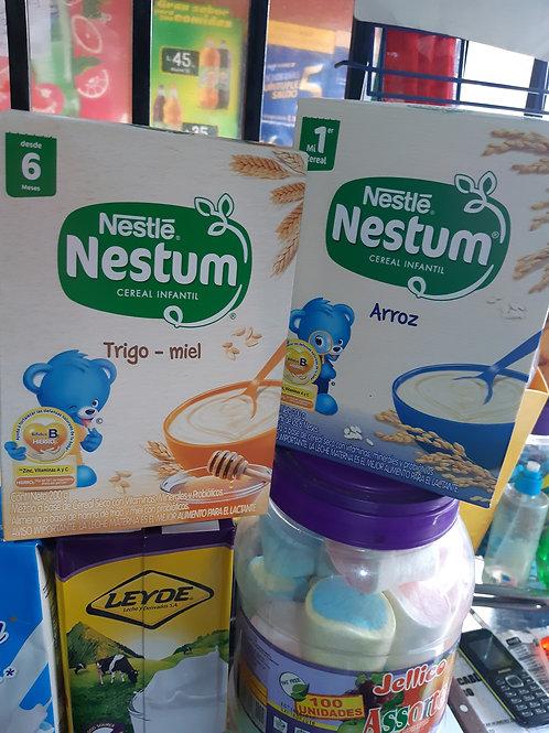 Cereal nestum trigo miel y arroz