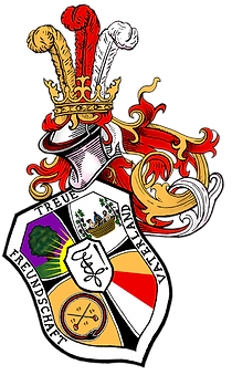 Wappen der p.c.B! Tauriska zu Baden, Schülerverbindung, historisches Fechten