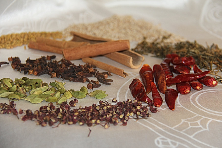 Himalayan  immune boosting spices