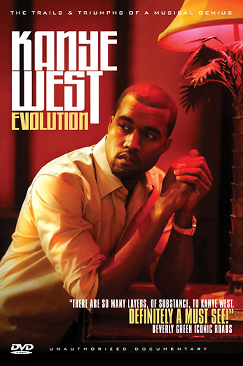 DVD- Kanye West - Evolution: Unauthorized Documentary