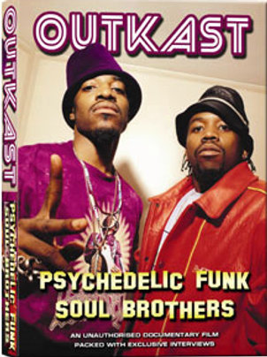 DVD - Outkast - Psychedelic Funk Soul Brothers Unauthorized