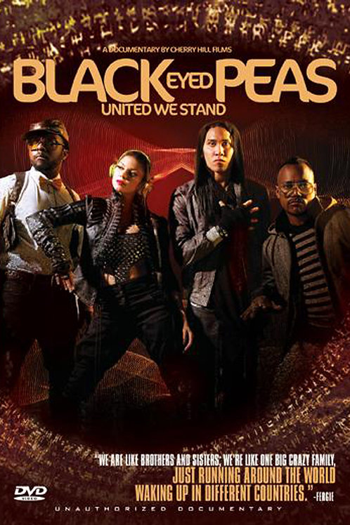 DVD- Black Eyed Peas - United We Stand: Unauthorized Documentary