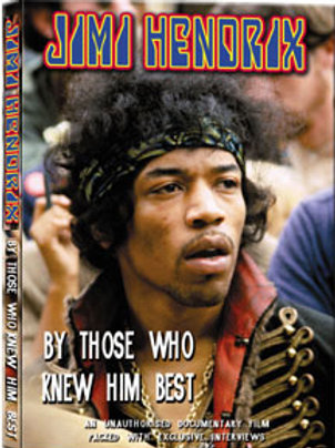 DVD - Jimi Hendrix - By Those Who Knew Him Best Unauthorized