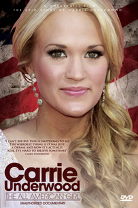 DVD-Carrie Underwood - All American Girl: Unauthorized Documentary